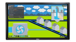 Springboard wins silver Jasper Award for Suez digital media internal application with multiple screens
