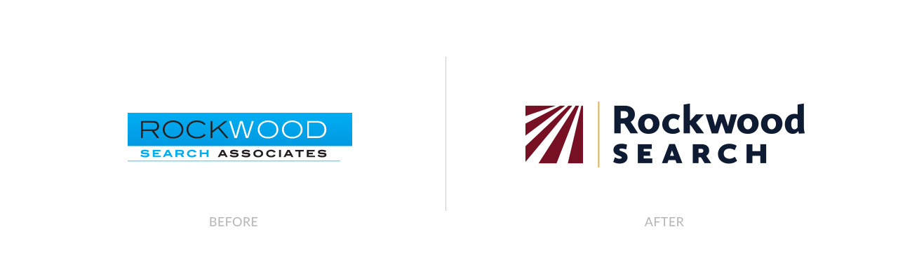 Rockwood Search before and after logos